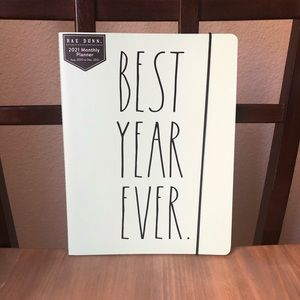 "Rae Dunn 2021 Monthly Planner ""Best Year Ever"""